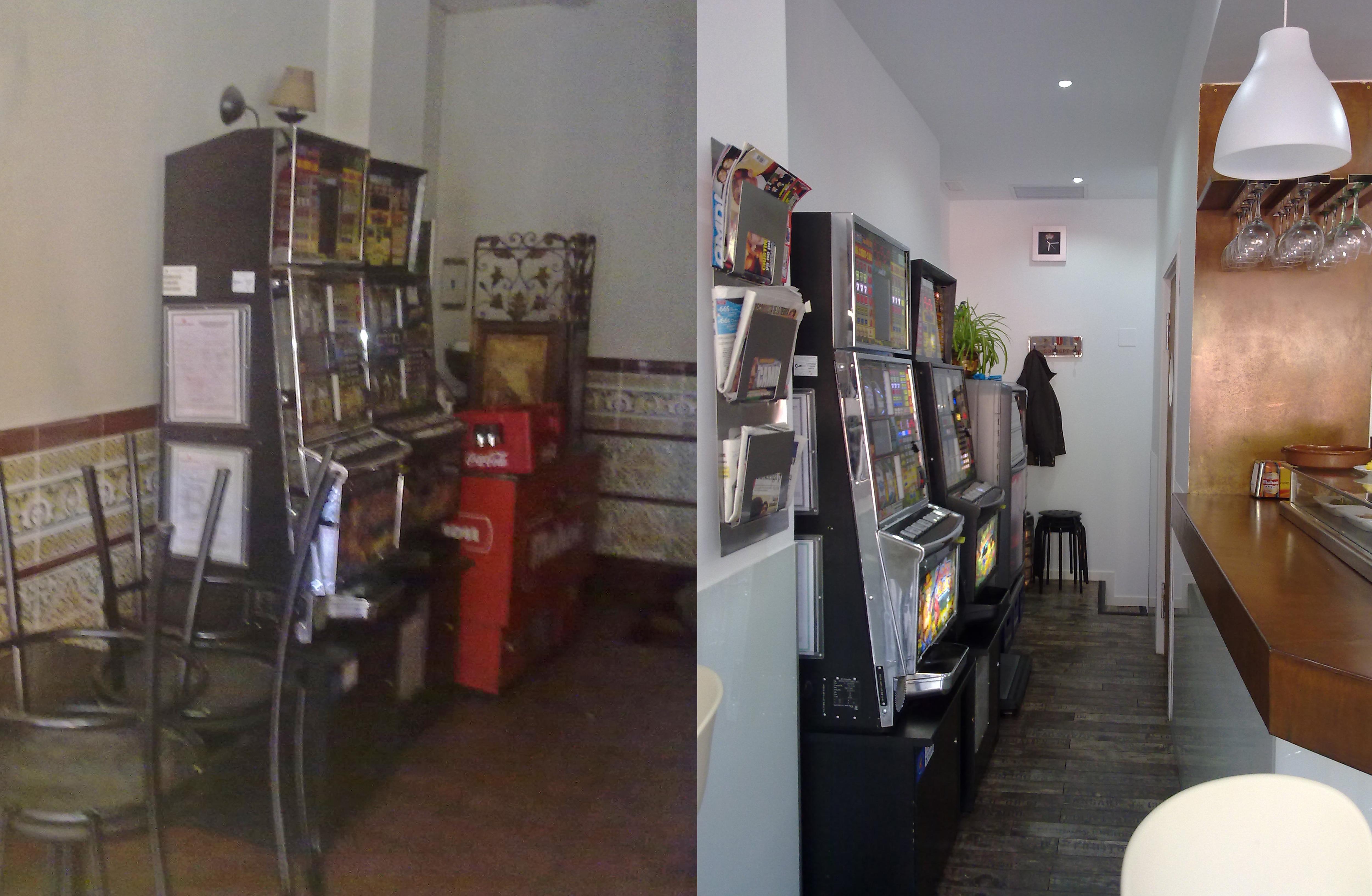 Reformas Solum: fotos del antes y después de la reforma de un bar en Villalba